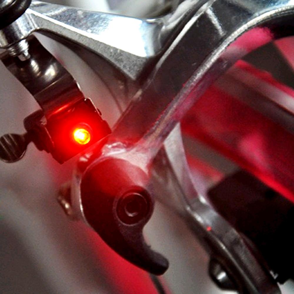 New Bike Brake Light Mount Tail Rear Bicycle Cycling LED Safety Warning Lamps.