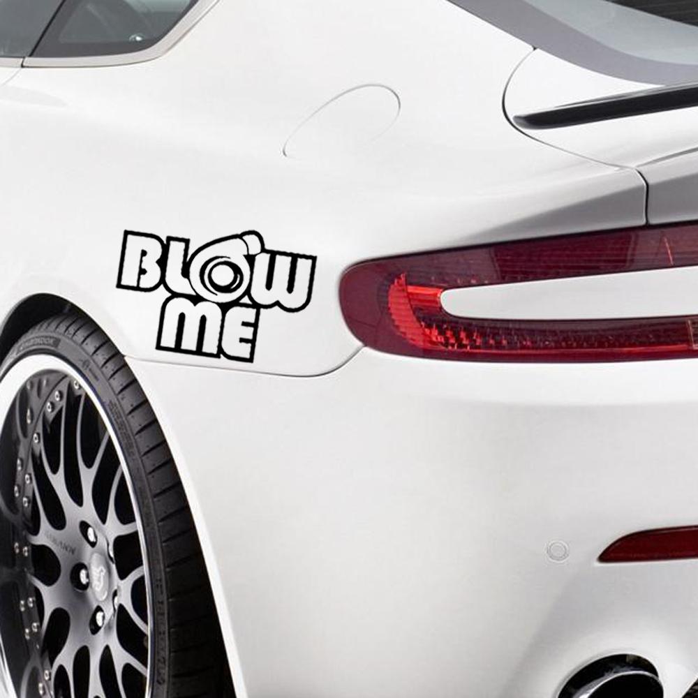 Blow Me Turbo Funny Car Sticker Decal Vinyl Euro Jdm