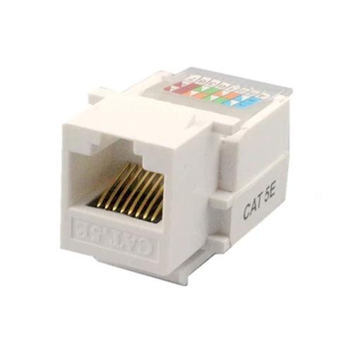 RJ45 Cat5e Network Information Module Connector Socket Outlet Module Adapter