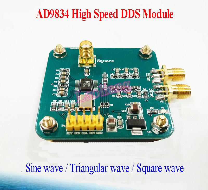 Details about AD9834 DDS Signal Generator Module Sine/Triangle/Square Wave  Digital Programmabl