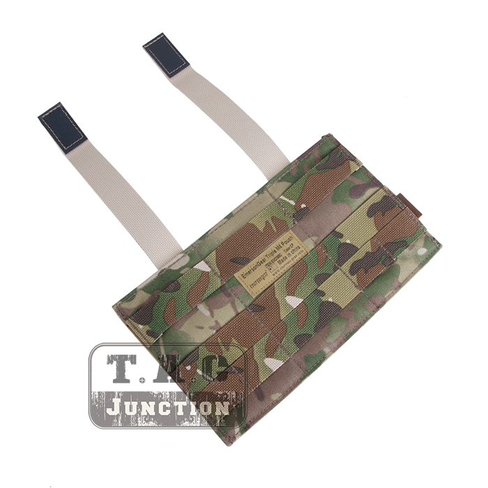 Details about Emerson Tactical Fast Draw Triple Open Top 5 56 Magazine Mag  Pouch MOLLE Holster