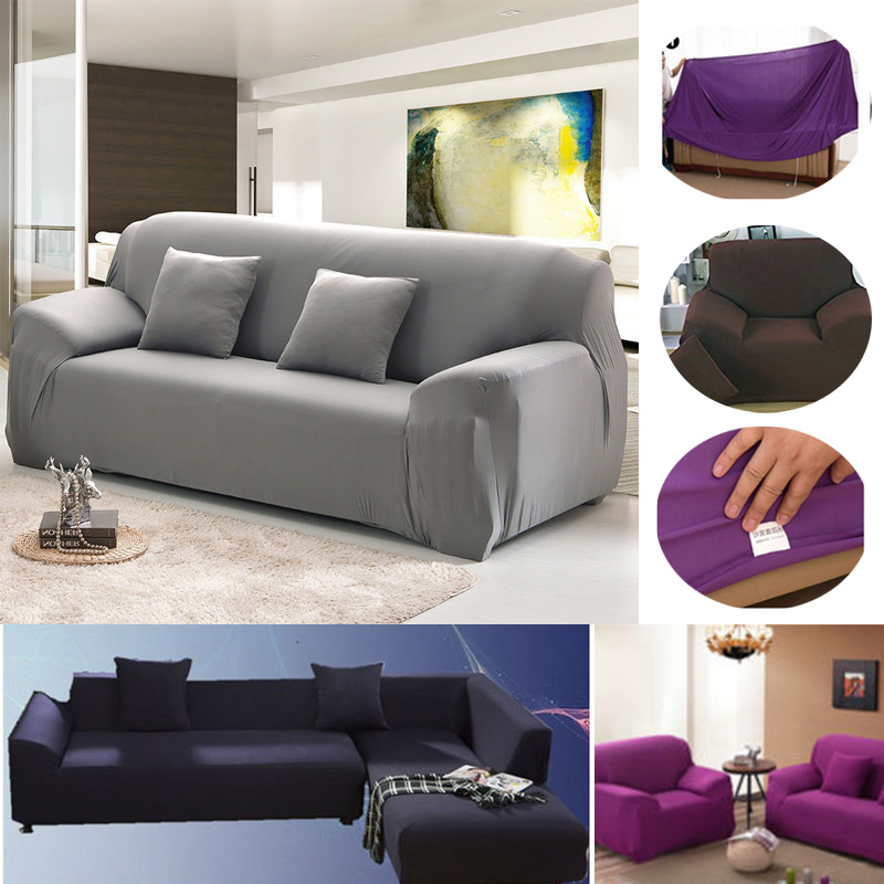 Sofa Slipcover Stretch Protector Soft Couch Cover Washable Easy