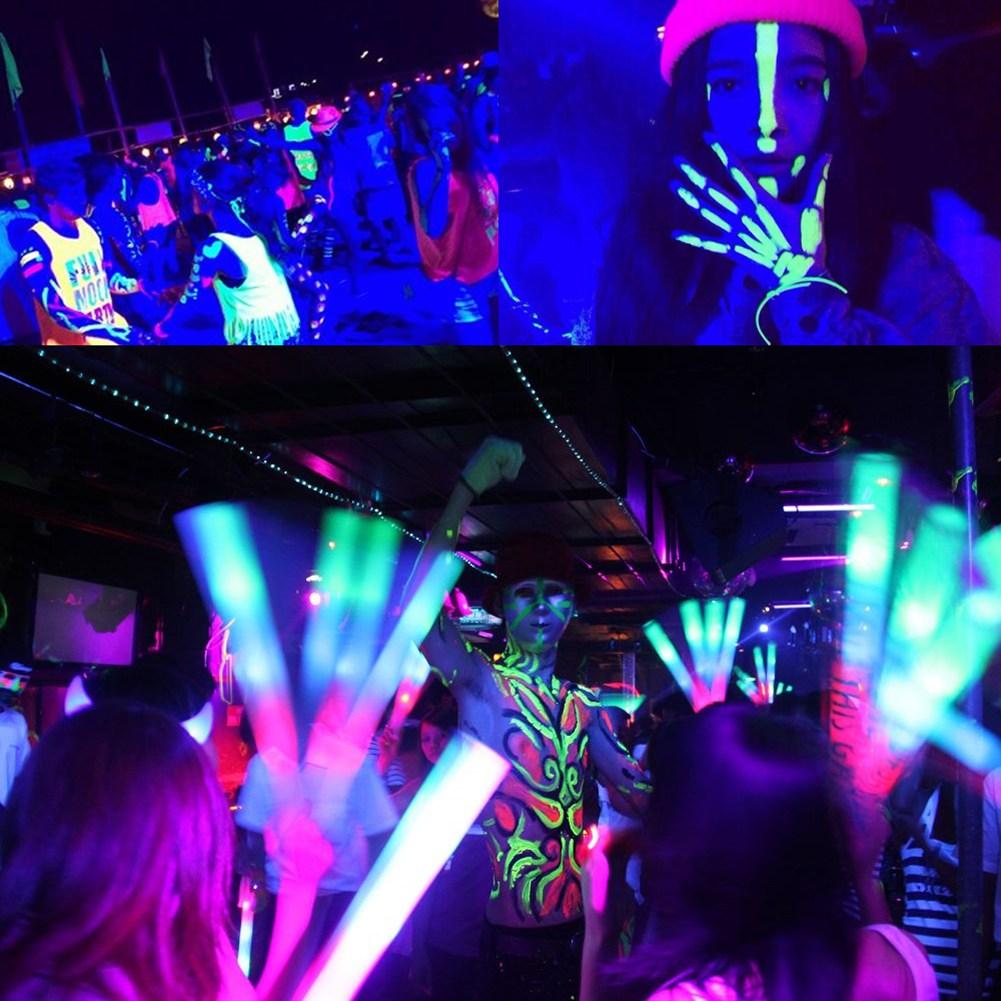 4X 72W UV 36 LED Schwarzlicht DMX Par Bühnenbeleuchtung Disco DJ Hochzeit Remote