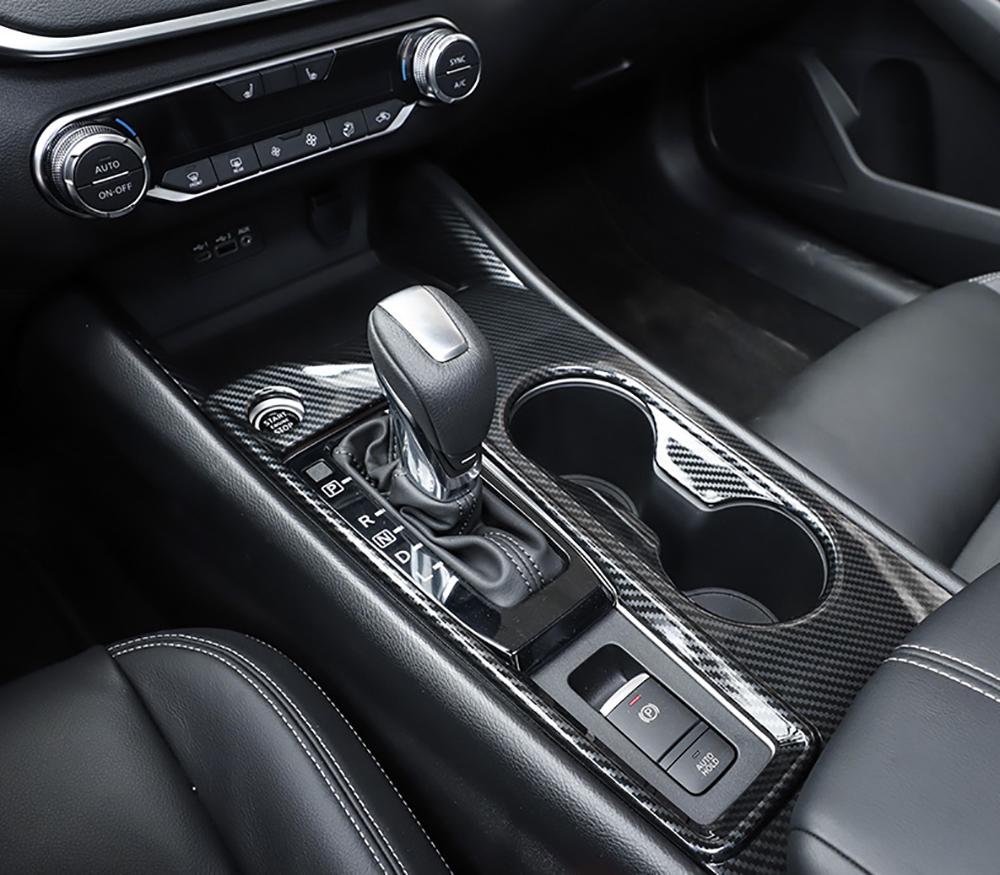 For Mazda CX-3 2015-2018 ABS Matt Interior Gear Shift Upper Decorative Trim 1pcs