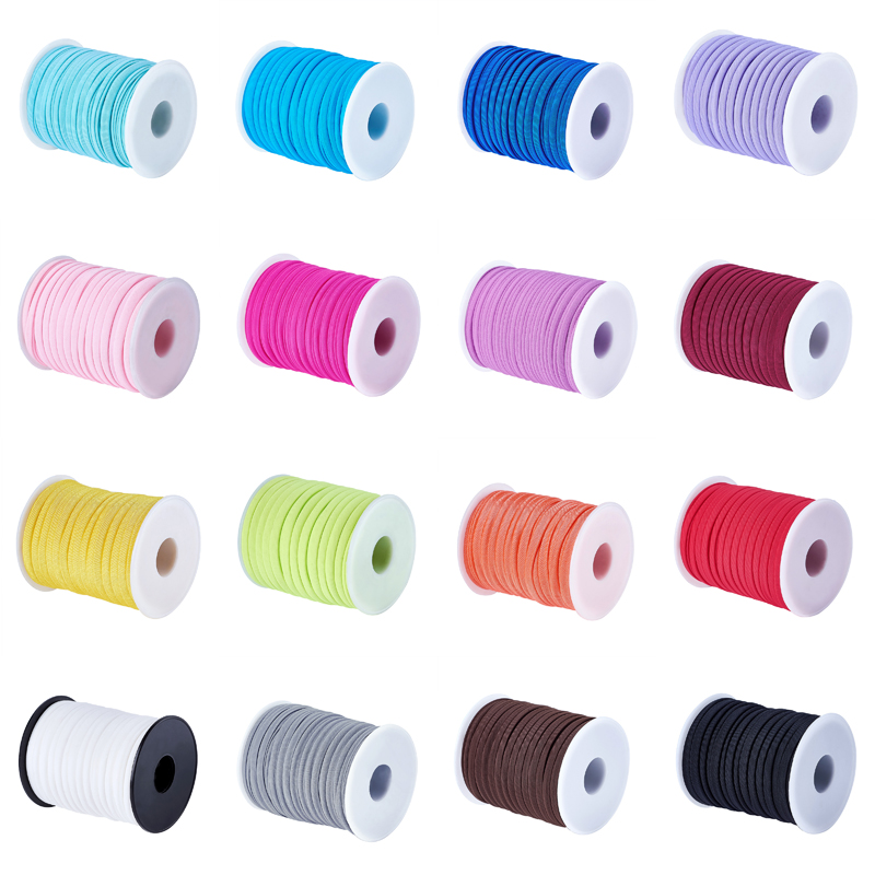 22yds Roll Elastic Spandex Nylon Threads Stretch Cords Rope Tie