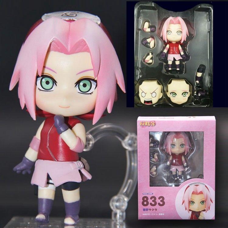 Naruto Shippuden #833 Sakura Haruno Action Figure 10CM Toy New in Box