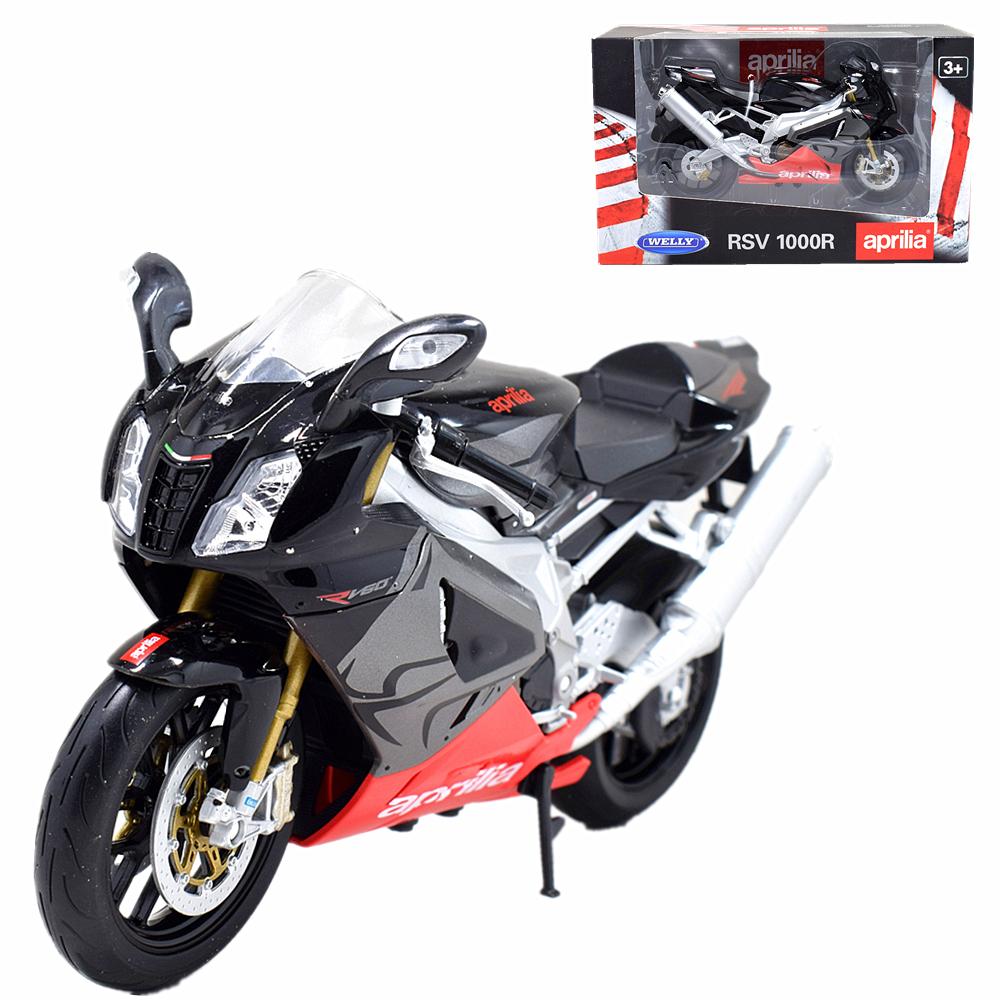 Aprilia VRS 1000r 1:24 motocicleta-modelo