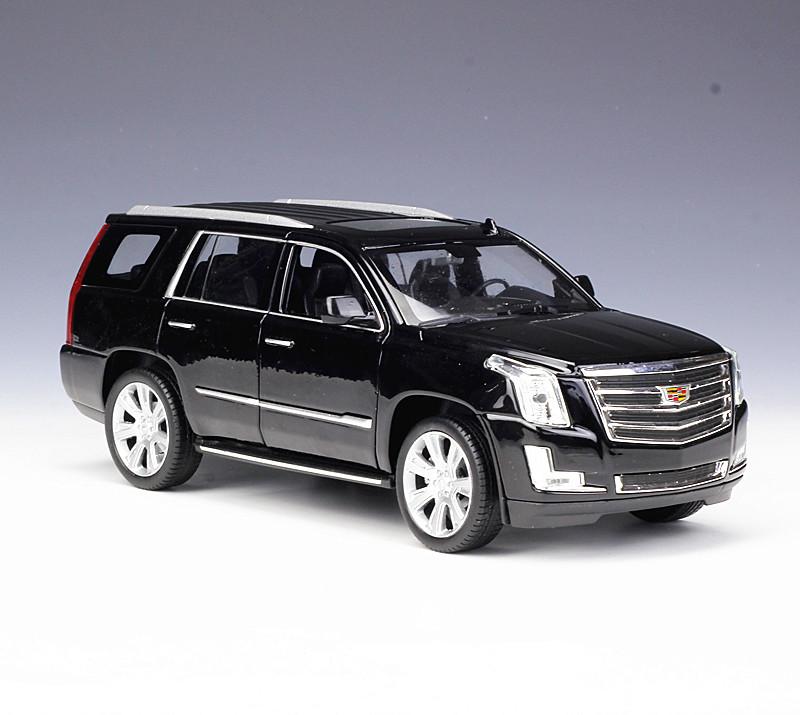 1:24 Welly 2017 Cadillac Escalade Metal Diecast Model Car