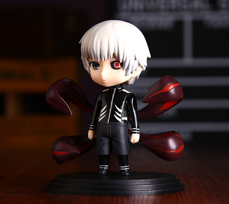 2pcs tokyo ghoul kaneki  pvc figure collection doll anime figures UU31 new year