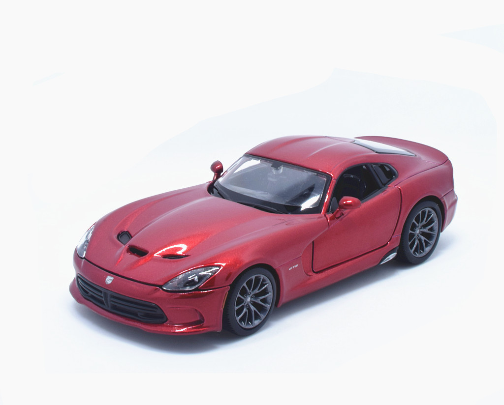 124 Dodge Srt Viper Gts 10 Acr Diecast Metal Model Car New In Box 4 Fuse 1 24