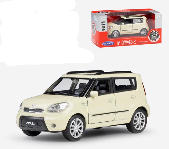 Kia Soul Colors >> Welly 1 36 Kia Soul Metal Diecast Model Car Toy 2 Colors Ebay