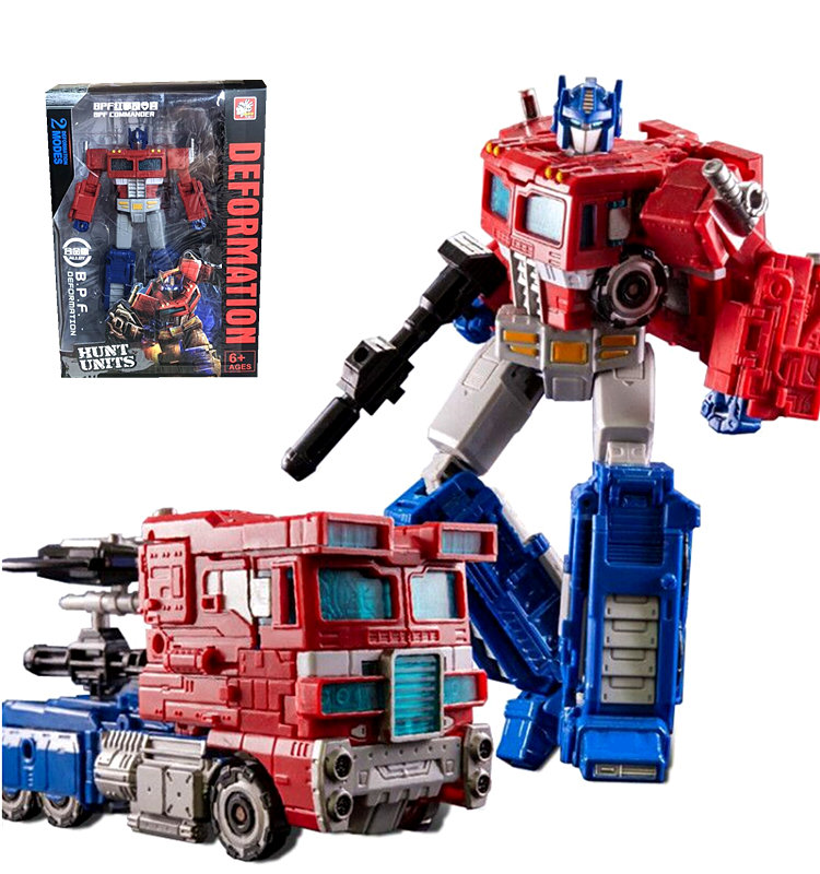 BPF Transformers War for Cybertron Siege Voyager Optimus Prime Figure Toy New