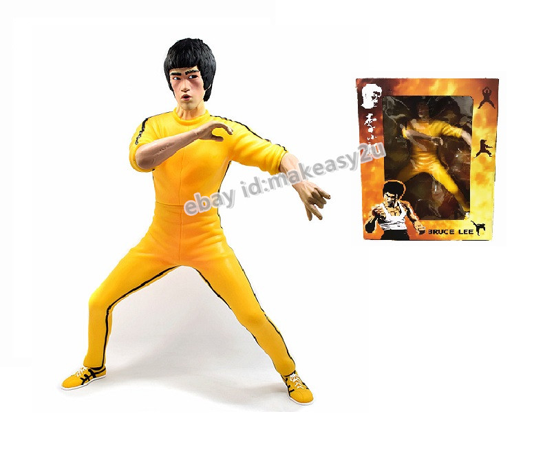 Bruce Lee/'s Game of Death Action Figure Kung Fu 35CM Toy New in Box