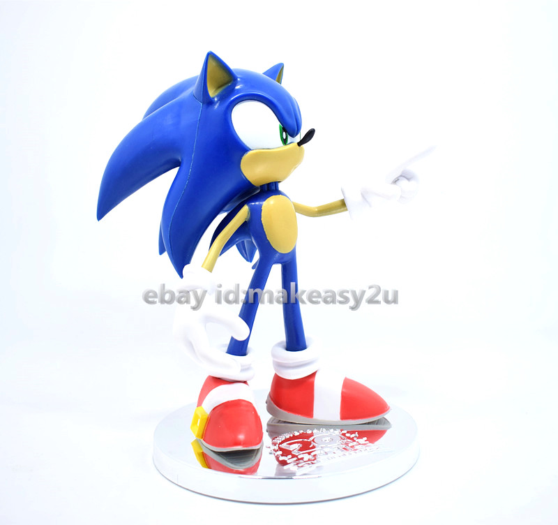"Games The HEDGEHOG Super Sonic Figure 7/"" Toy Doll New"
