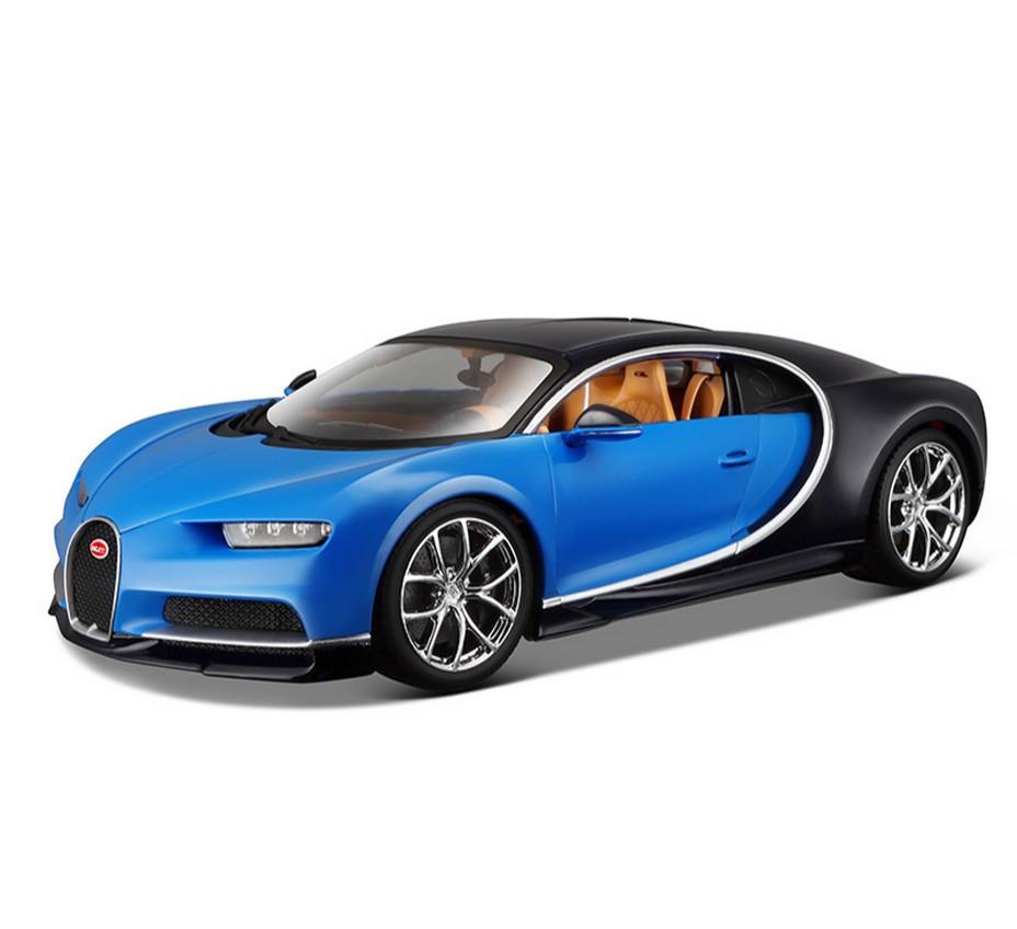 bburago 1:18 bugatti veyron chiron diecast model roadster car