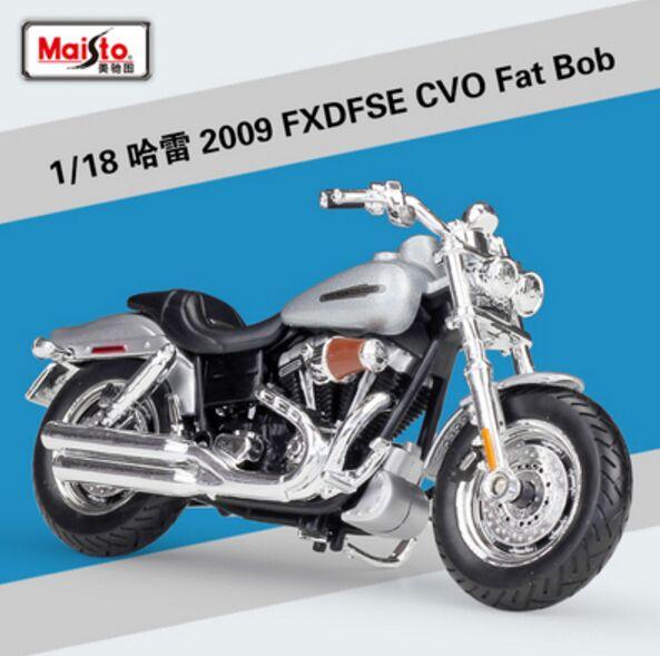 36 Harley Davidson Modell 2009 FXDFSE CVO Fat Bob Maisto Motorrad 1:18