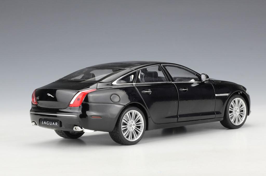 Welly 1 24 Jaguar Xj Metal Diecast Model Car Toy Black New In Box Ebay