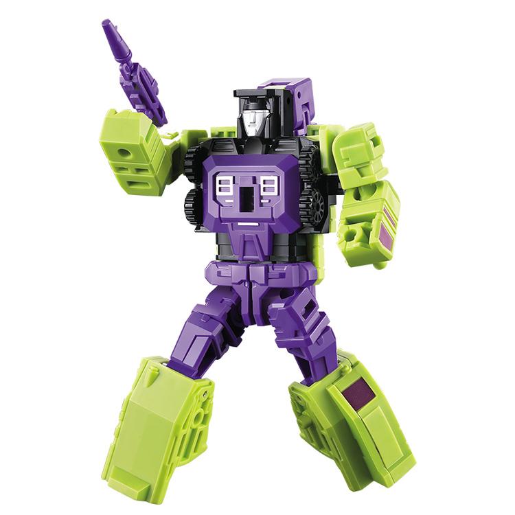 Set of 6pcs Transformers Engineering Devastator Robots Action Figure 26CM Toy
