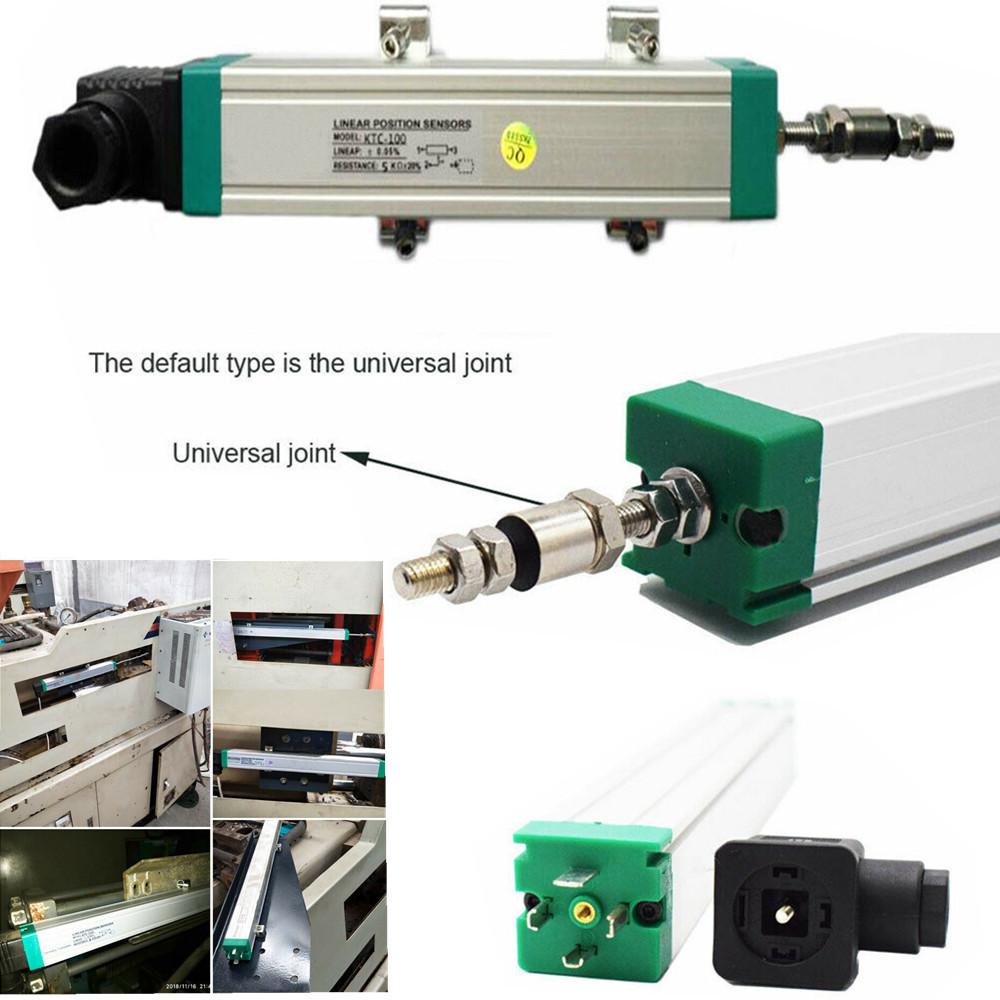 KTC 50-800MM Linear Displacement Sensor Position Transducer Scale Injection 1pc