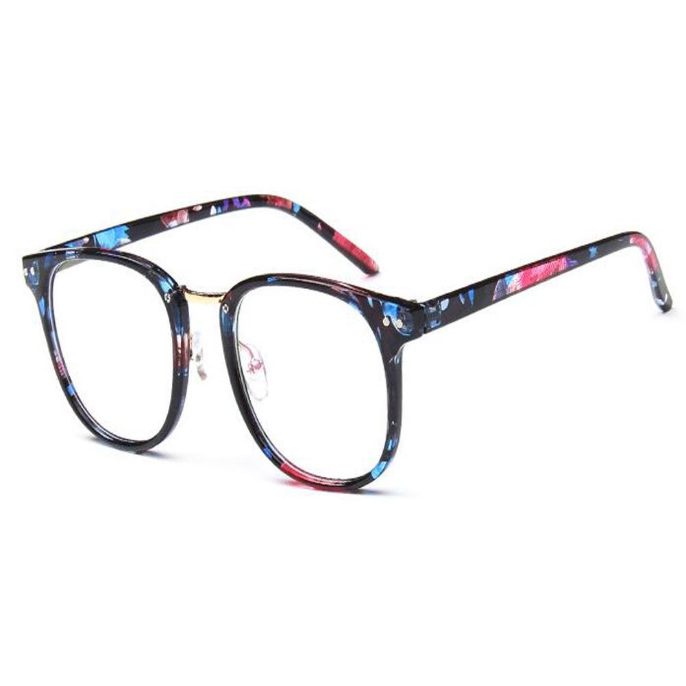 DE Mode Brille Vintage Optische Gläser Damen Herren Groß Runde ...