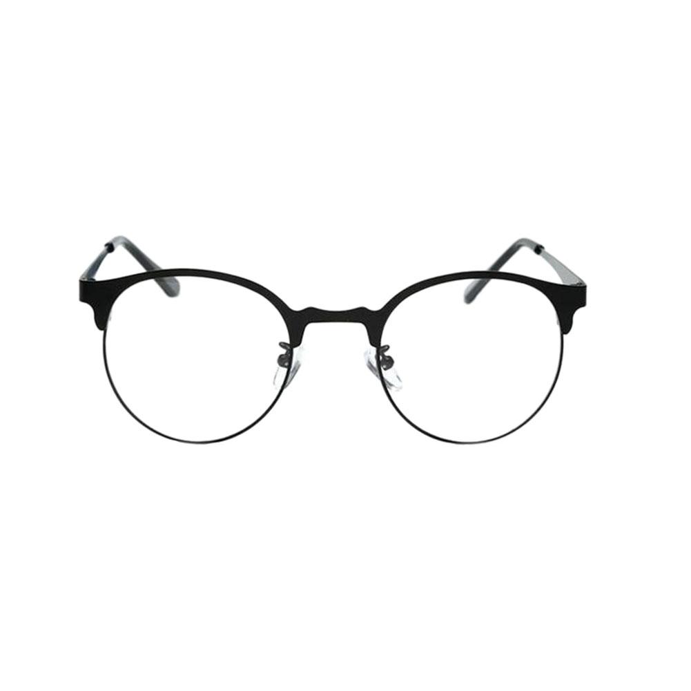Women Men Retro Student Optical Glasses Round Full Frame Glasses ...