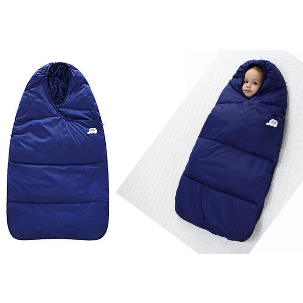 24441febccce QW Newborn Baby Wrap Down Sleeping Bag Toddler Sleep Wrapped Pajamas ...