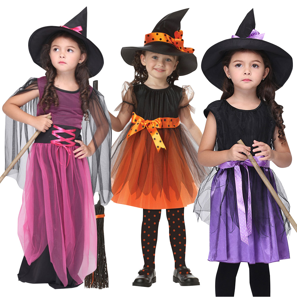 Witch Fancy Dress Party Costume