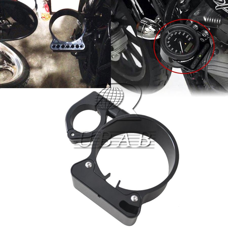39mm 16 Side Mount Speedo Relocation Bracket For Harley Sportster 2014 Xl1200v Wiring Diagram Xl 883 Xl1200