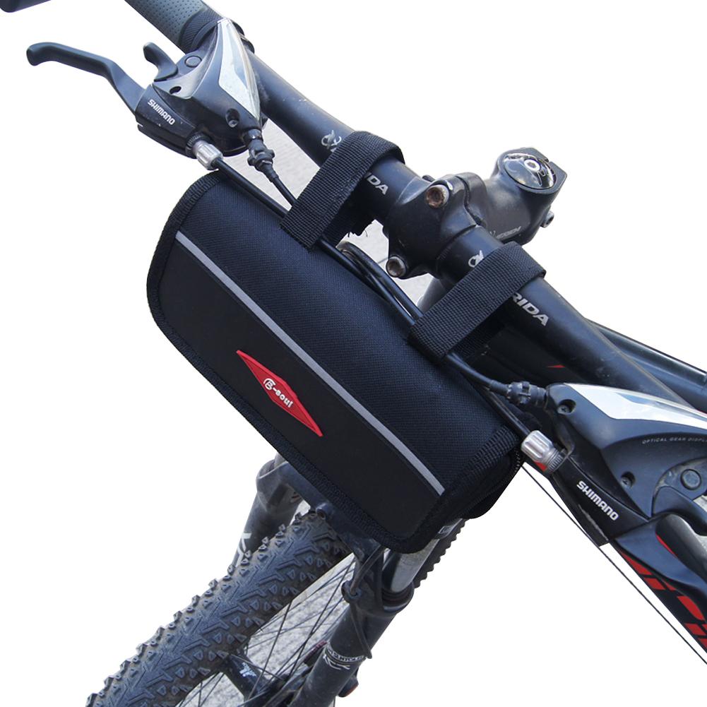 Fahrrad Fahrrad Vordertaschen MTB Zubehör Lenker Korbtasche 2020 E2D6