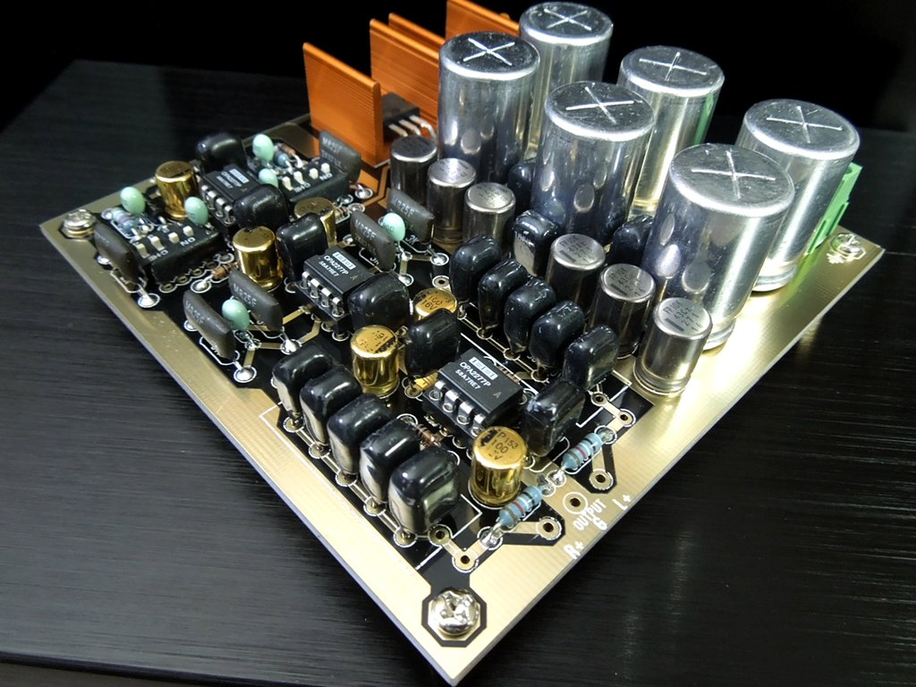Audio Monitor Type Adjustable Gain Multiple Hifi Preamplifier Pre How To Build Symmetrical Class A Douk Amp Diy Kit