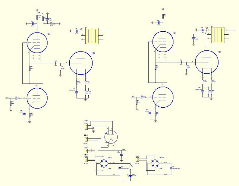 300b set amp schematics