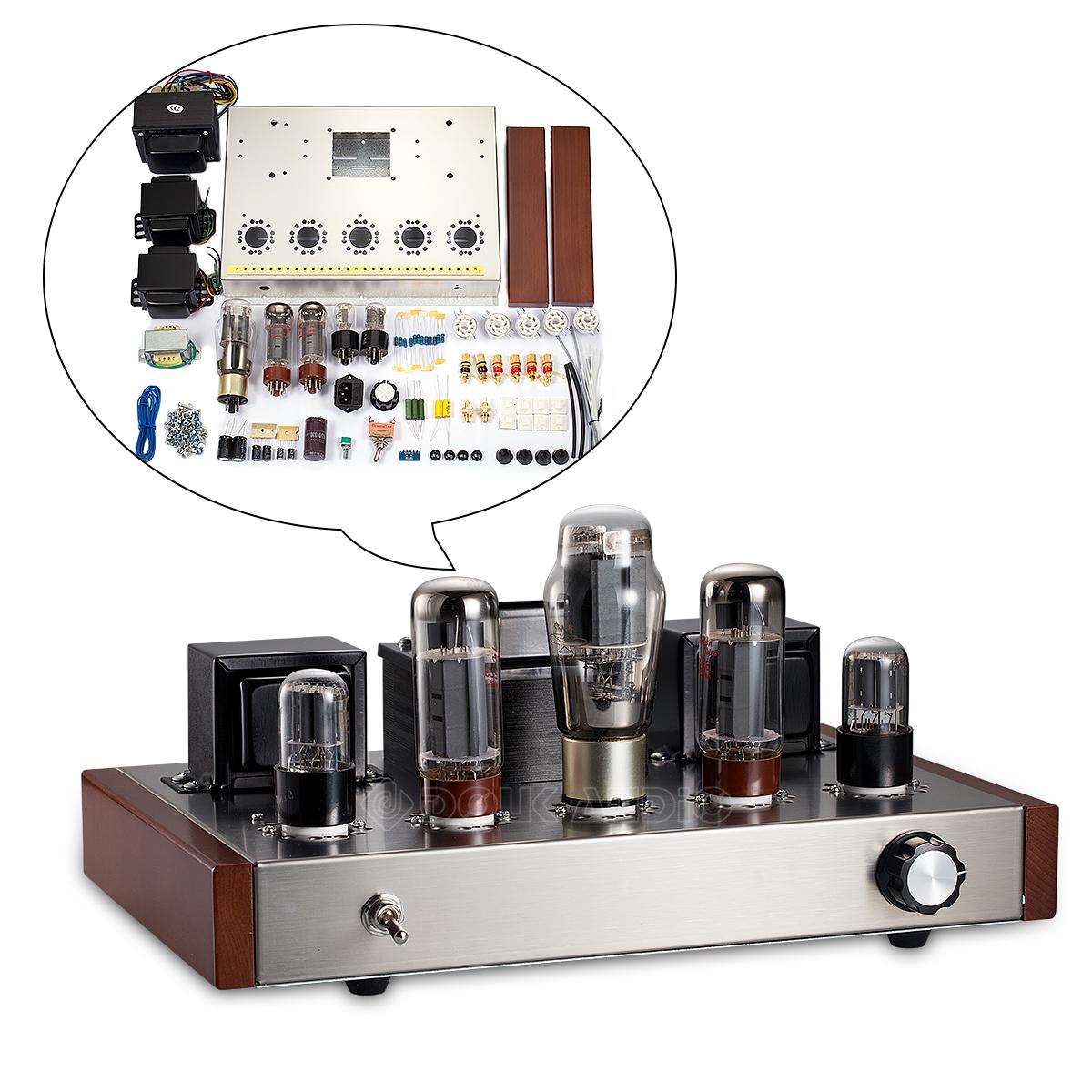 hifi el34 valve tube amplifier stereo home audio integrated power amp diy kit 9320703803847 ebay. Black Bedroom Furniture Sets. Home Design Ideas