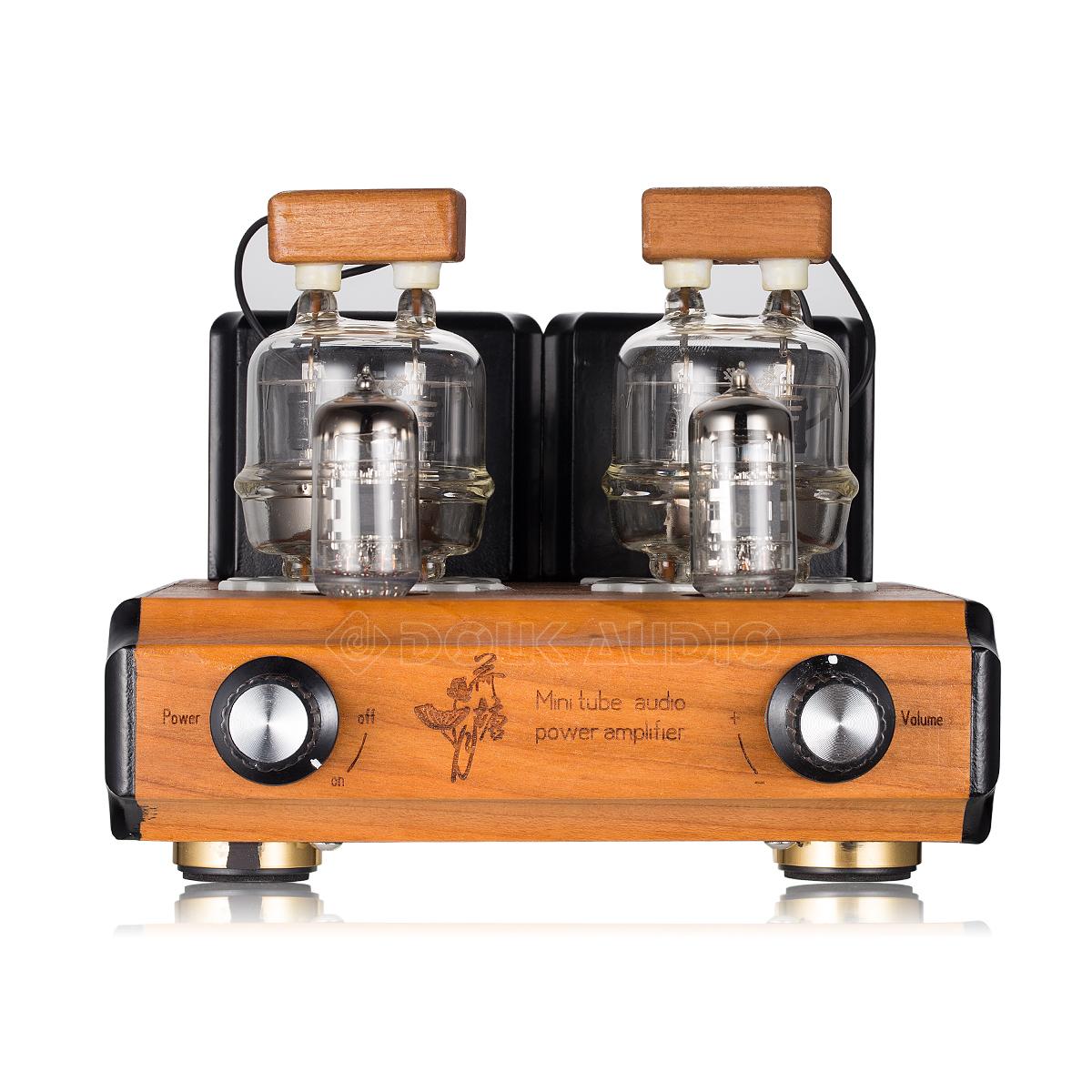 Douk Audio Mini Fu32 Vacuum Tube Amplifier Hifi Push Pull Stereo Power 35w 12ax7 Amp