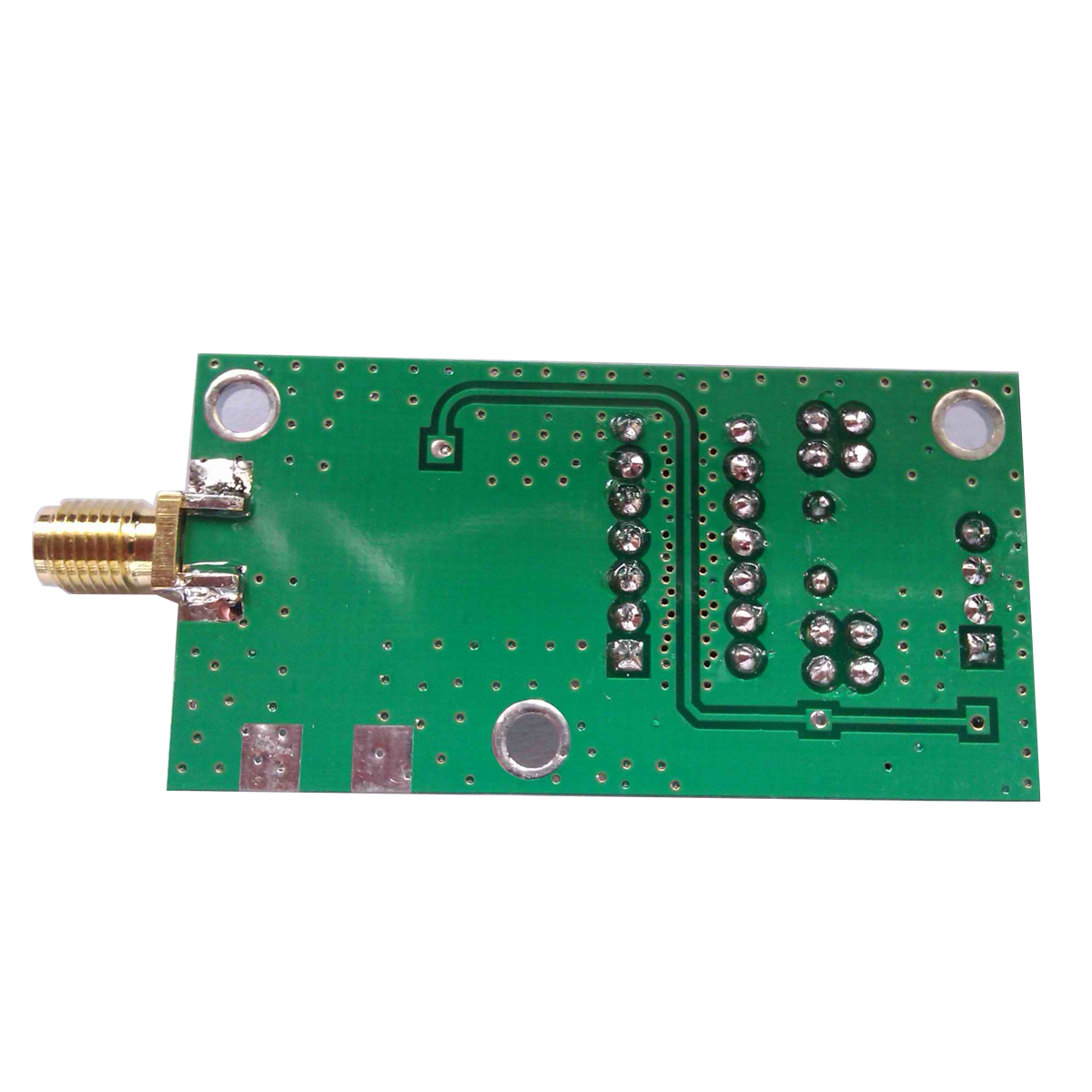 30 70mhz Vco Broadband Rf Signal Generator Voltage Controlled Voltagecontrolled Oscillator Using The Timer 555 Is Shown In 10dbm