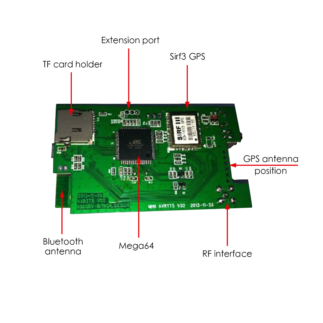 Details about Mini APRS VHF Tracker with GPS/Bluetooth/Thermometer/TF Card  Support APRSdroid