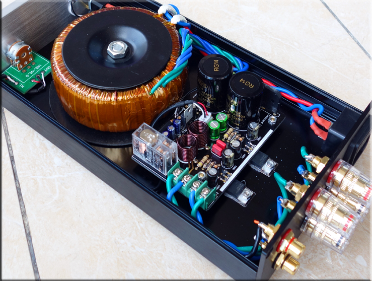 douk audio lm1875 lm3886 stereo hifi power amplifier transistor amp ebay. Black Bedroom Furniture Sets. Home Design Ideas