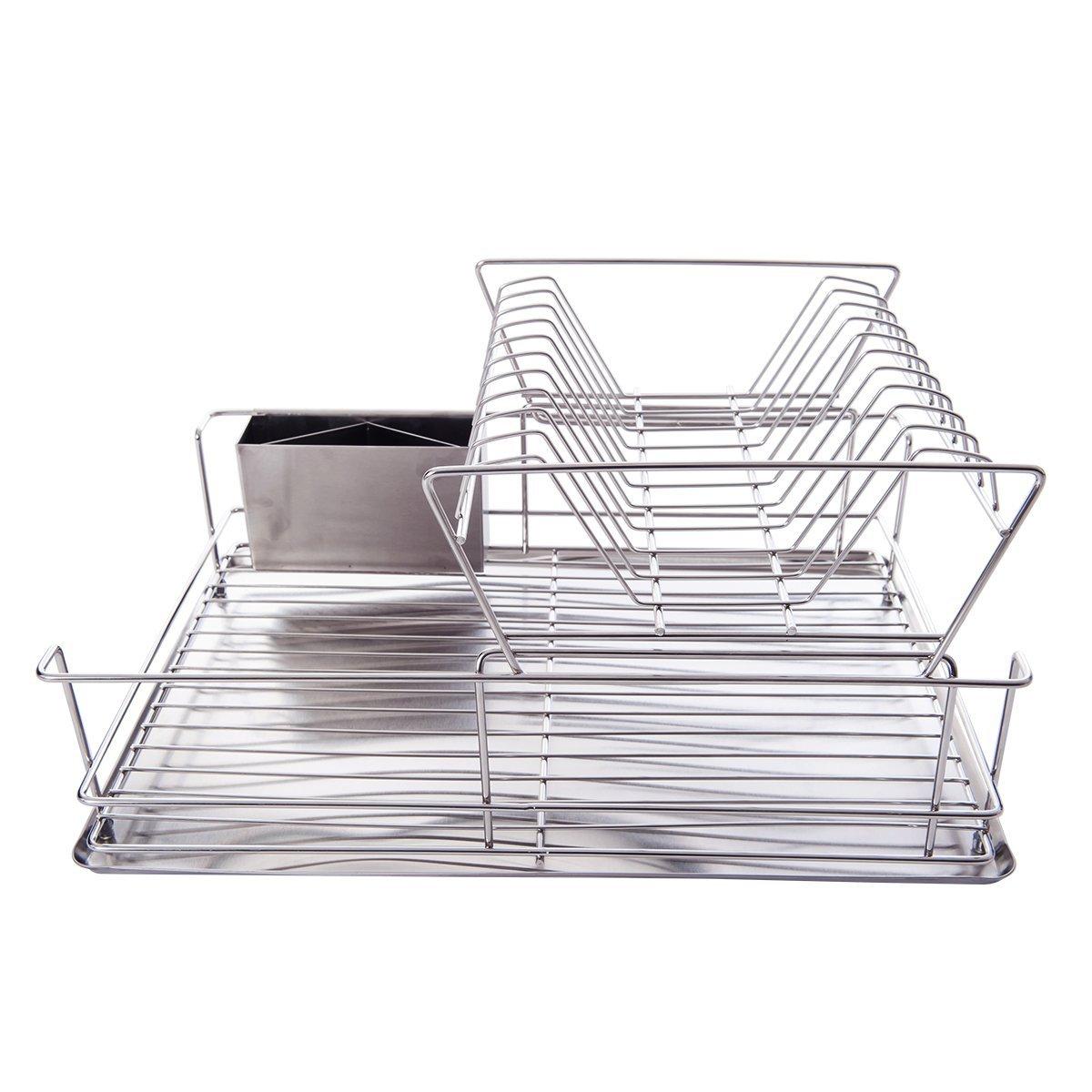 abtropfgestell abtropfst nder edelstahl abtropfgitter geschirr abtropfkorb ebay. Black Bedroom Furniture Sets. Home Design Ideas