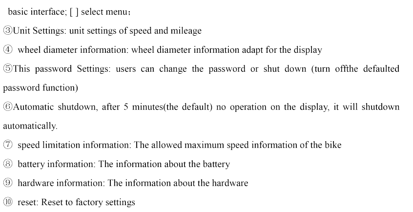 Details about New Intelligent Minimalist OLED Display SW102 For Bafang  BBS01 BBS02 BBSHD USA
