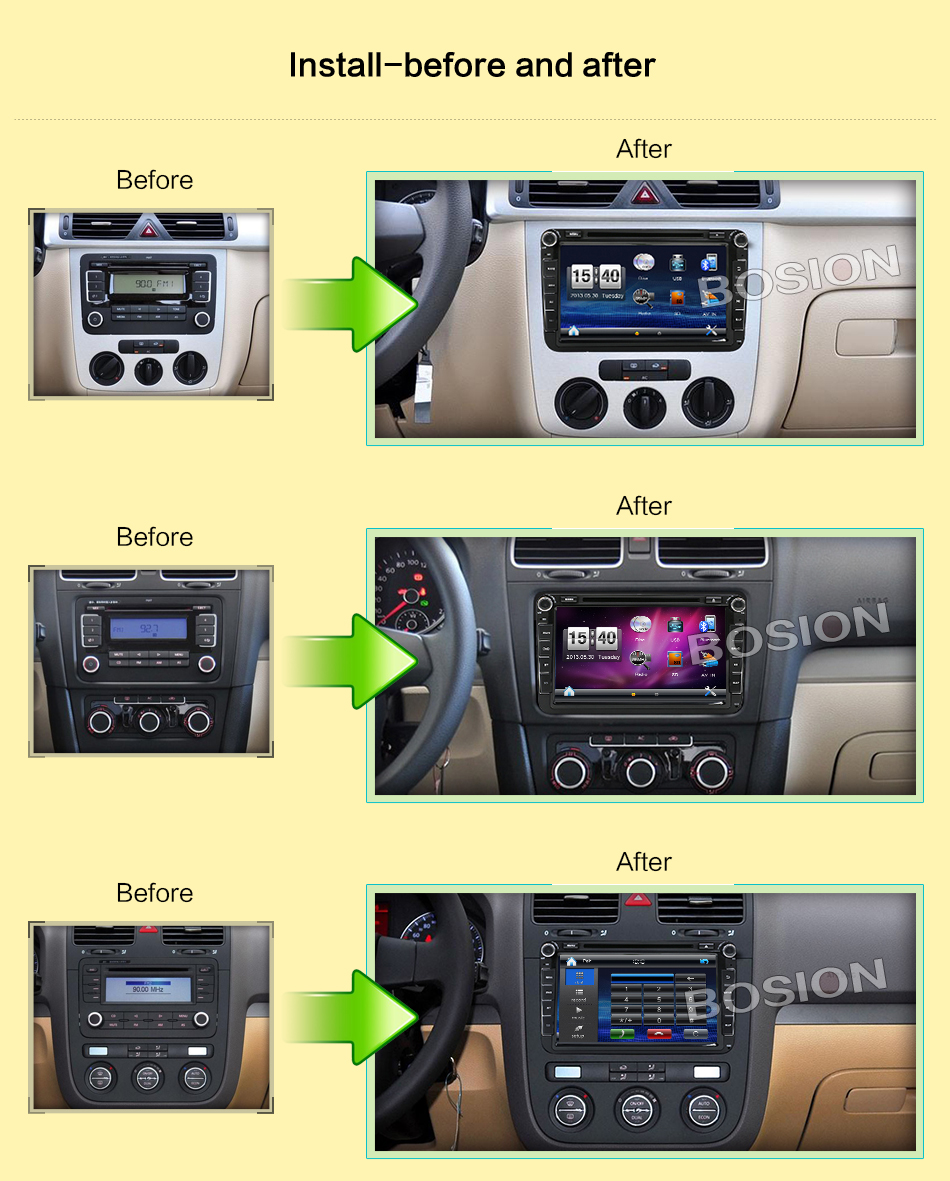 gps navigation car dvd radio unit for volkswagen vw golf. Black Bedroom Furniture Sets. Home Design Ideas
