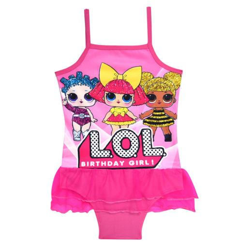 74da33f7496bf UK Stock Kids Lol Surprise Doll Swimwear Swimsuit Bathing Suit Swimming  Clothes