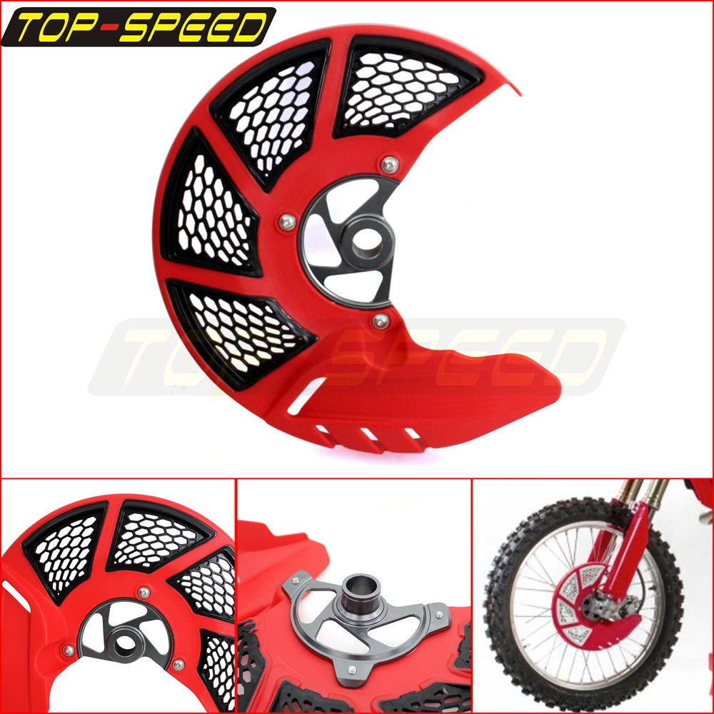 Honda CR250R 2002 Fits 2007 Acerbis X-Brake Vented Front Disc Cover with Mounting Kit Red//White