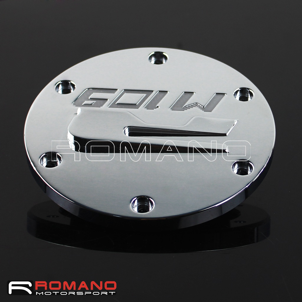 Motorcycle Motorcycle Chrome Aluminum Derby Covers For 2006-2013 Suzuki Boulevard M109R