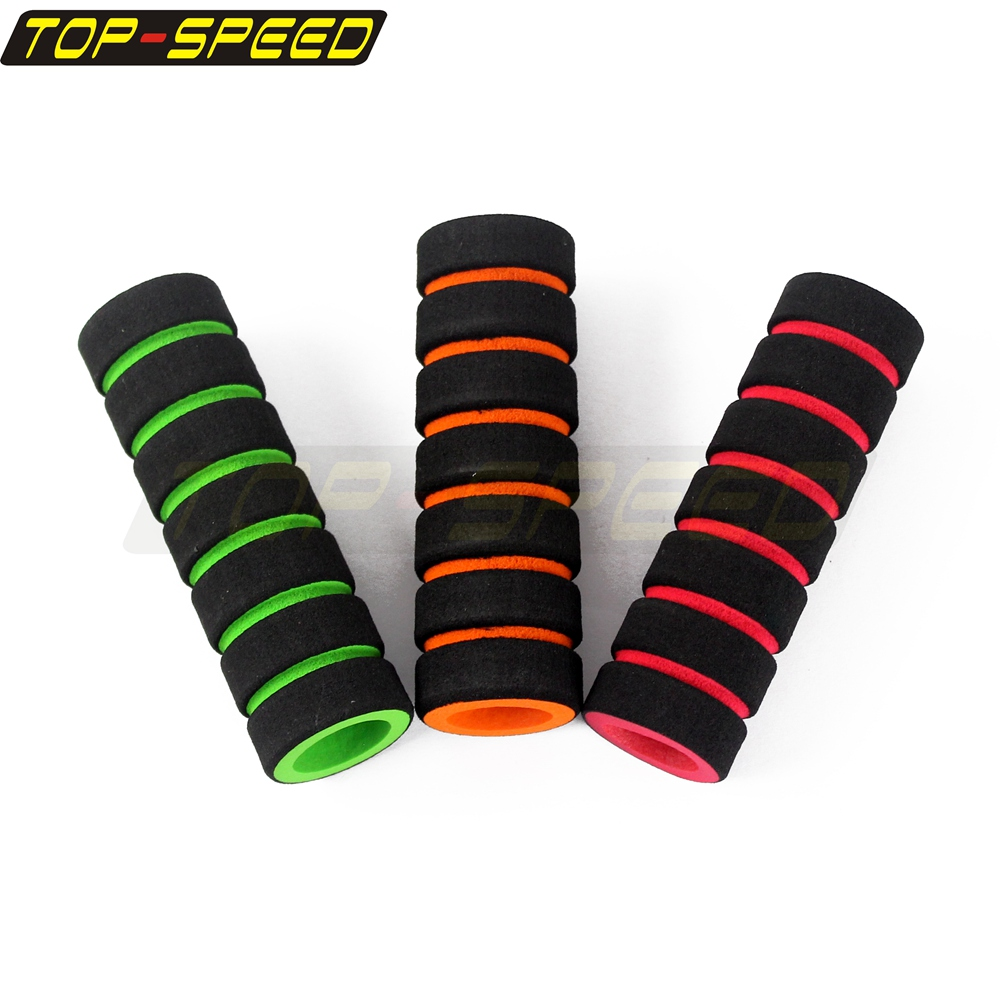 1 Pair Anti-slip Foam Sponge Bike Racing Bicycle Motorcycle Handlebar Grip Cover