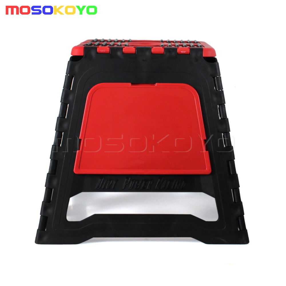 Pleasing Details About Motorcycle Fold Step Stool Folding Bike Box Stand Universal Motocross Offroad Mx Short Links Chair Design For Home Short Linksinfo