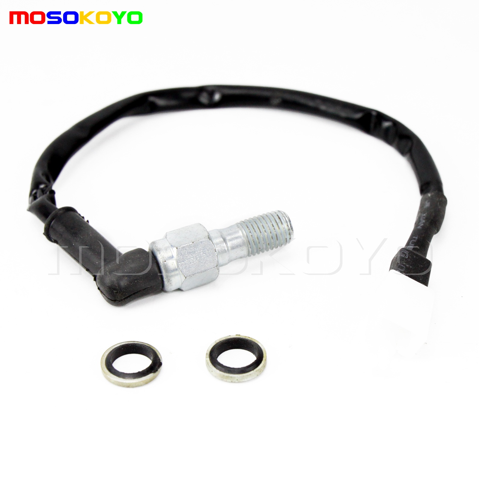 Universal M10x1.25mm Motorcycle Hydraulic Brake Pressure Light Switch Banjo Bolt