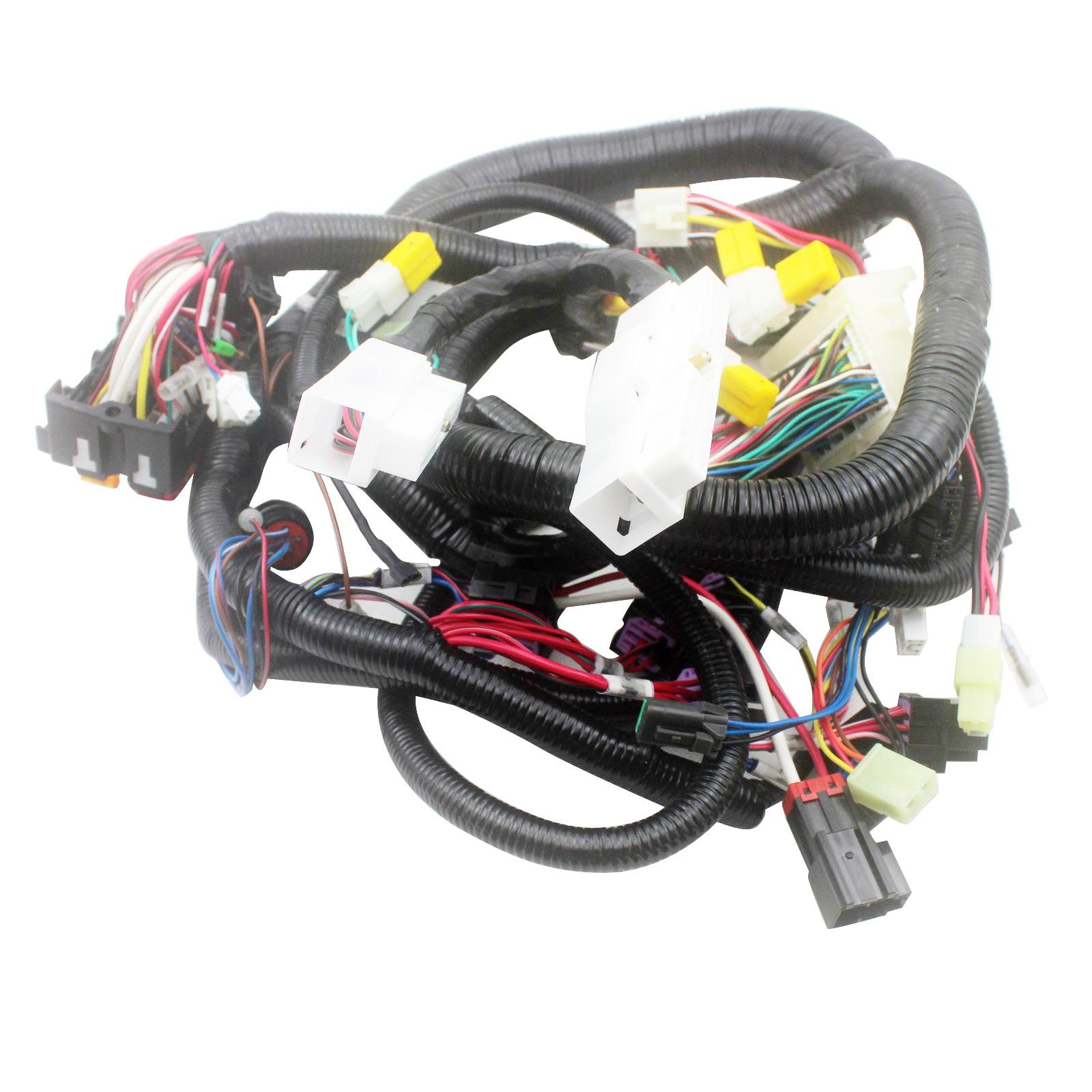 0001044 Internal Inner Cabin Wiring Harness For Hitachi Ex200 2 Starter Excavator Parts