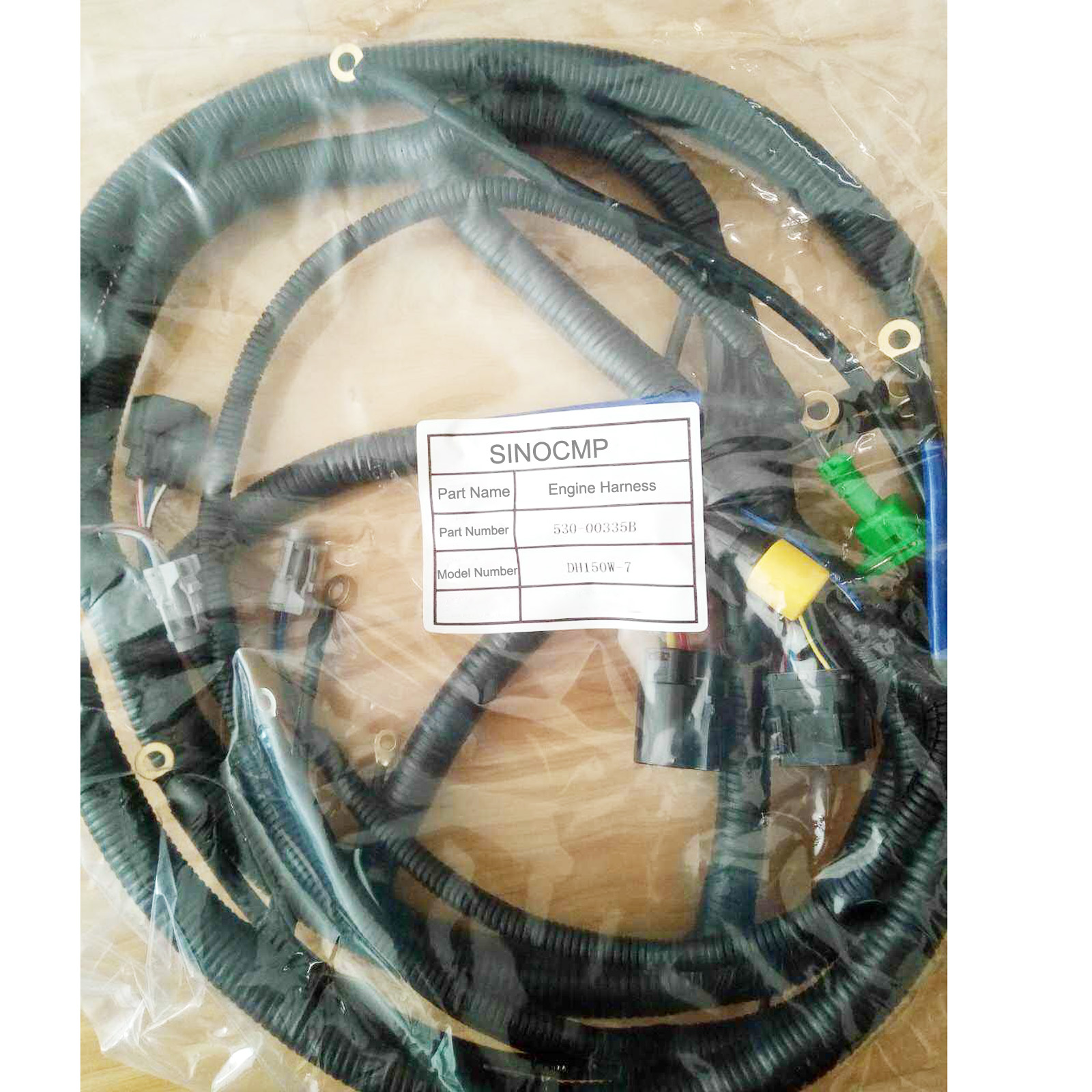 Engine Wiring Harness 530 00327a For Daewoo Doosan Dh220 7 Excavator Wire