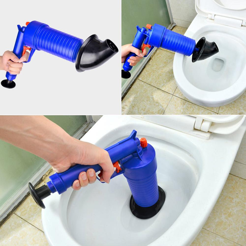 Air Pump Drain Blaster Sink Plunger Bath Toilet Pipe