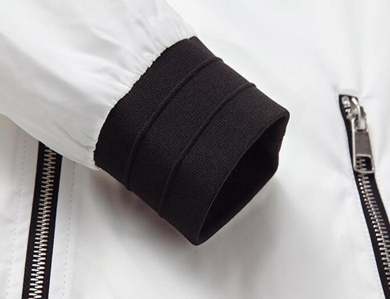 ba769635e Korean Men's Thin Jacket Slim Fit Baseball Neck Casual Sport Coat Jackets  TOP