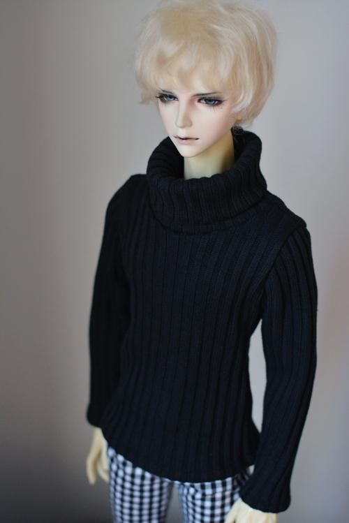"Brown Sweater Kint Coat  For Male BJD 1//3 24/"" 60cm SD AOD AS Luts dollfie G/&D"